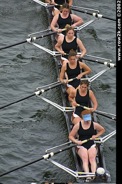 Racing with Lehigh at the Charles in 2002. I'm the one in six-seat!