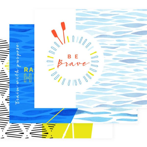 Be Brave Notecards Preview